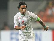 Mehdi Mahdavikia in seinem letzten Spiel als iranischer Nationalspieler.