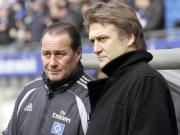 Wiedersehen in Salzburg? Dietmar Beiersdorfer könnte Trainer Huub Stevens folgen.