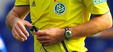 War auch ein DFB-Schiedsrichter beteiligt?
