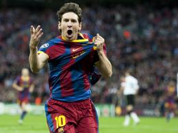 Opfer eines Angriffs - der jedoch offenbar glimpflich ausgegangen ist: Lionel Messi.