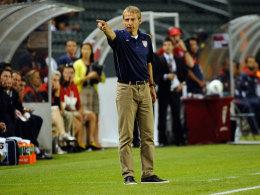 Jürgen Klinsmann will mit dem US-Team neue Wege gehen.