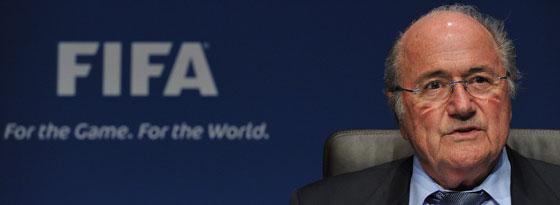 FIFA-Präsident Joseph S. Blatter.