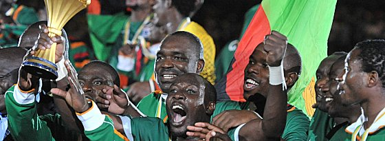 Debütantenball: Sambia hat sich im dritten Anlauf erstmals gekrönt und ist Afrika-Meister.