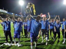 Pokal ja, Europa League nein: Die Spieler von Sigma Olomouc.