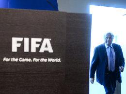 Im Zwielicht: Sepp Blatter.