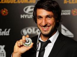 Gewinner der Johnny Warren Medal: Thomas Broich ist Australiens Fußballer des Jahres.