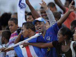 Ein Fan von Kap Verde