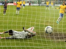 Neymar verwandelt zum 2:0