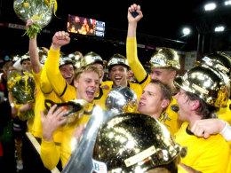 Elfsborg Boras feiert den Meistertitel