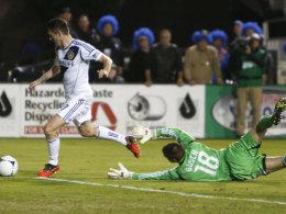 Keane trifft gegen San Jose