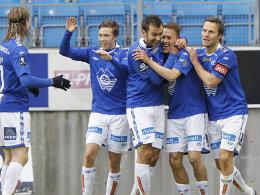 Molde FK ist zum zweiten Mal norwegischer Meister.