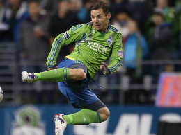 Bittere Abfuhr: Christian Tiffert unterlag mit Seattle im Halbfinalhinspiel bei L.A. Galaxy 0:3.
