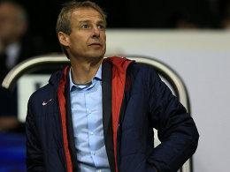 Achtungserfolg im russischen Krasnodar: Jürgen Klinsmann und seine US-Boys.