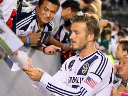 Beckham denkt an