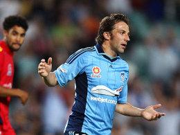 Derzeit einigermaßen glücklos mit dem FC Sydney: Alessandro Del Piero bekommt nun einen neuen Coach.