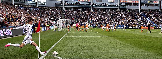 Bekannt für seine Standards: Die MLS muss sich nun einen anderen Flankengott suchen. Das Beckham-Kapitel ist zu Ende.
