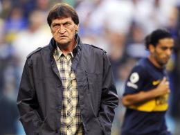Muss seinen Trainerstuhl räumen: Die Boca Juniors verzichten auf eine Vertragsverlängerung mit Julio Cesar Falcioni.