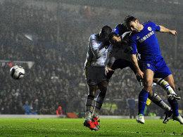 Serbischer Fußball-Held und Schütze des 2:1 für Chelsea: Vranislav Ivanovic.