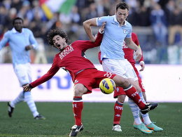 Bologna d�piert Napoli - Lazio zittert sich weiter