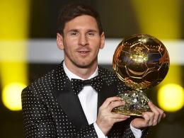 Rund um den Globus gefeiert: Barcelonas Superstar Lionel Messi.