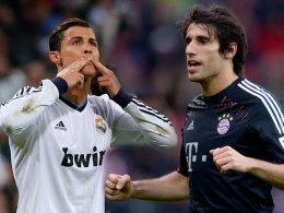 Cristiano Ronaldo und Javi Martinez