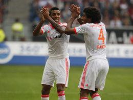 Luiz Gustavo und Dante
