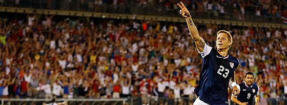 Spielte zuletzt schlecht, war jedoch Matchwinner gegen Costa Rica: Brek Shea von Stoke City.