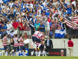 USA bejubelt das 1:0