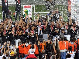 Am Ziel der Träume: Atletico Mineiro sichert sich die Copa Libertadores.