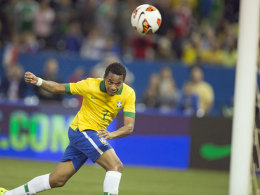 Joker-Tor zum Sieg: Robinho markierte das 2:1 gegen Chile.