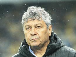 Donezk-Trainer Mircea Lucescu
