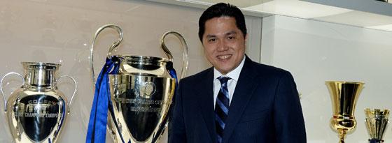 Will mit Inter hoch hinaus: Präsident und Mäzen Erick Thohir hat große Pläne.