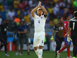 Abschied aus der Nationalmannschaft: Steven Gerrard wird künftig nur noch auf Vereinsebene spielen.