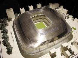 Estadio Santiago Bernabéu (Modell)
