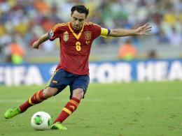Bleibt in Barcelona, nicht aber in der Nationalmannschaft: Mittelfeldregisseur Xavi.