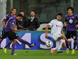 Juan Cuadrado erzielte gegen Inter aus der Distanz das 2:0.