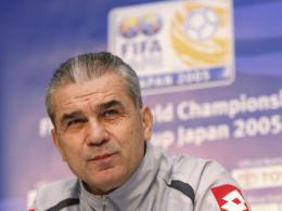 Ruhestand vorbei: Anghel Iordanescu ist zum dritten Mal rumänischer Nationaltrainer.