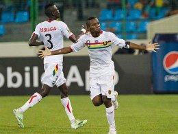 Steht mit Guinea im Viertelfinale: Ibrahima Traoré.