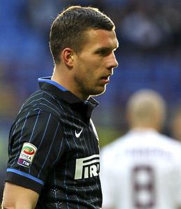 Soll ganz vorne st�rmen: Weltmeister Lukas Podolski.