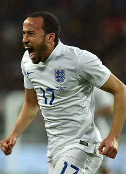 Englands Remis-Retter: Andros Townsend.