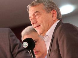 """DFB-Präsident Wolfgang Niersbach spricht von einer """"richtigen und überfälligen"""" Entscheidung."""