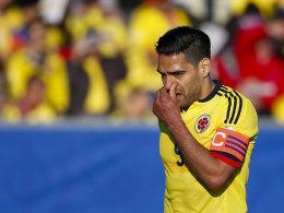 Schwache Leistungen, viel Kritik: Bei Radamel Falcao und Kolumbien lief es bisher noch nicht rund.