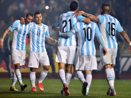 An der Spitze: Argentinien ist neuer Führender der FIFA-Weltrangliste.