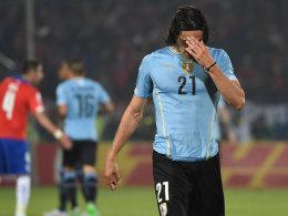 Cavani nach Copa-Eklat mit Jara f�r zwei Spiele gesperrt