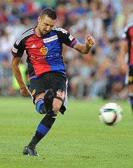 Zdravko Kuzmanovic empf�ngt mit dem FC Basel am Samstag den FC Sion.