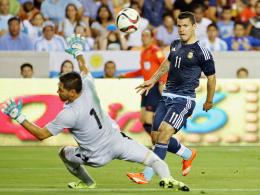 7:0 - Aguero und Messi trumpfen auf