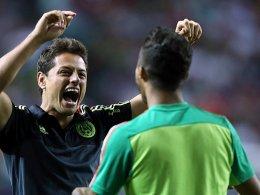 Mexikos drei Treffer reichen nicht