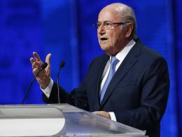 Steht vor dem endgültigen Aus: FIFA-Chef Joseph Blatter.