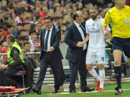 Benitez-Beben: Anruf bei Ramos und Benzema-Debatte