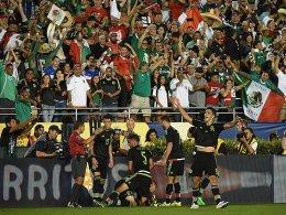 Mexikanische Party: Paul Aguilar erzielte den entscheidenden Treffer.